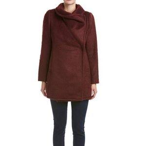 Badgley Mischka Belle Anna wool coat NWT